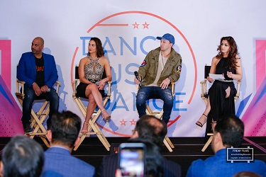 Nakul Dev Mahajan, Lauren Gottlieb, Matt Steffanina, and Sarish Khan